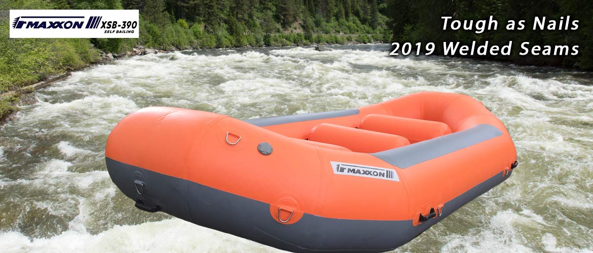 Maxxon Rafts and Catarafts 2019 now welded seams