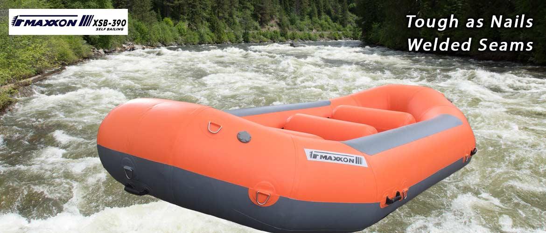Maxxon Rafts and Catarafts welded seams