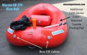 Maxxon SB-270 River Raft front view